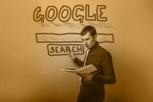 Google search crossroads